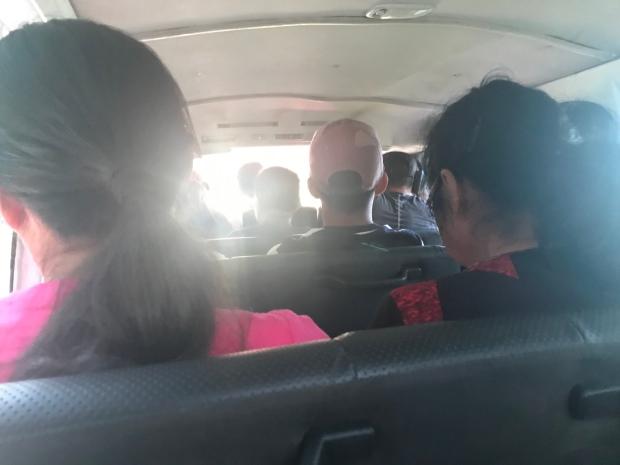 Minivan Puerto Princesa till El Nido
